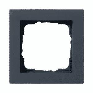 GIRA Afdekraam 1-Voudig E2 Zwart mat