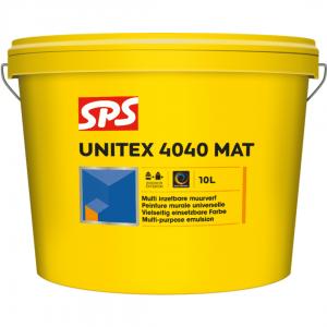 SPS Unitex 4040 Muurverf BI_BUI 10ltr