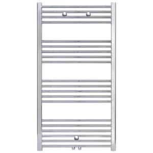 Handdoekradiator Midden Aansluiting Chroom 1200x600
